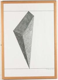progetto per scultura by mauro staccioli