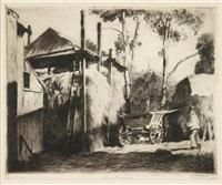 straw barracks by daniel garber