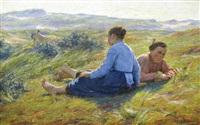 une journée estivale by edgard farasyn