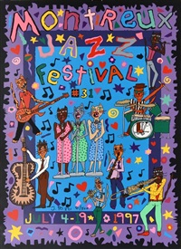 montreaux jazz festival by james rizzi