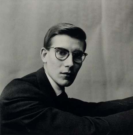 yves saint laurent paris by irving penn