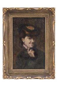 retrato de dama by alberto torres fuster
