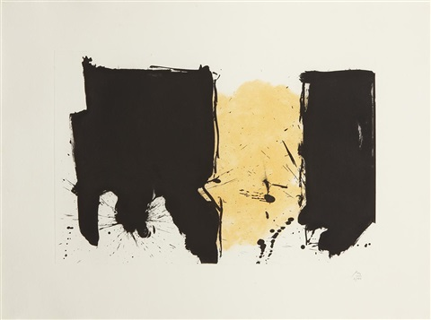 españa by robert motherwell
