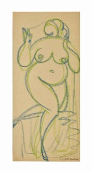 untitled (nude) by gaston lachaise