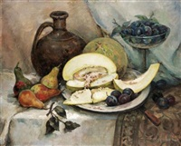 still life of fruit by soldakov