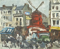 le moulin rouge by fernand herbo