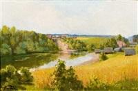 paysage by wladimir krivoutz