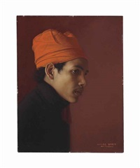 moroccan boy by claudio bravo