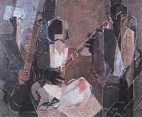 musiciens afghans ii by pierre loeb