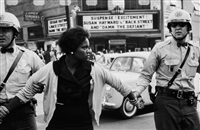 birmingham protest demonstrations, from the series time of change, 1963 by bruce davidson
