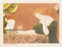 nos âmes, en des gestes lents (from amour) by maurice denis
