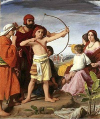 and david bade them teach the children of judah the use of the bow by william charles thomas dobson