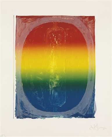 figure 0 from color numeral series by jasper johns