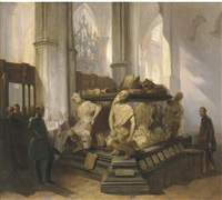 the prinsenkapel at the grote kerk, breda (collab. w/bernardus van de laar) by jan hendrik van de laar