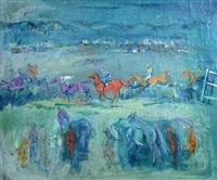 studies of racehorses by jinky simkins