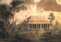 camperdown cottage near sydney by henry curzon allport