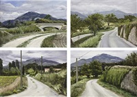 vier wege zum mont ventoux (four roads to mount ventoux) (in 4 parts) by anke doberauer