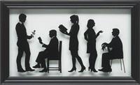 the gallery staff i by julian opie