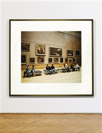 louvre iii - paris by thomas struth