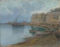 marina con barche by nicola fabricatore