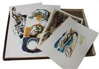disegni (cartella di 48) by renato guttuso