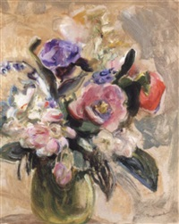 mixed flowers by florence engelbach
