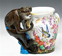 a figured vase by maison samson (co.)
