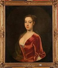 portrait d'une dame de qualité by john theodore heins sr.