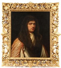 bust portrait of james butler, 2nd duke of ormonde, lord lieutenant of ireland (1665-1745) by william gandy