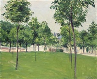 promenade d'argenteuil by gustave caillebotte