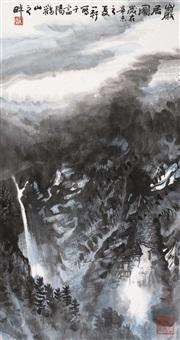 岩居图 by xu yixuan