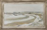 winter landscape by eero nelimarkka