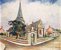 l'église d'offranville en seine-maritime by élisée maclet