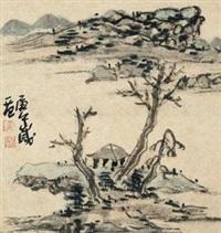 山水 by jiang guohua