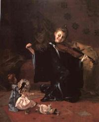 la danse des poupées by louis adolphe tessier