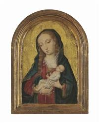 the virgin nursing the christ child by flemish school-brussels (16)
