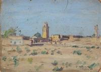tozeur, la mosquée by jules lellouche