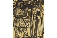 studies for stations of the cross ii by evie hone