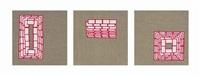 intervals (vii) (triptych) by valeska soares