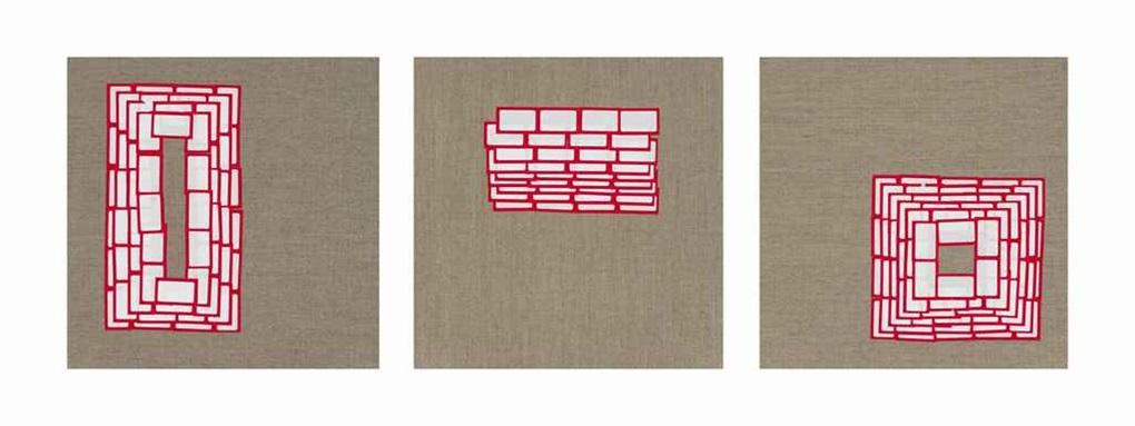 intervals vii triptych by valeska soares