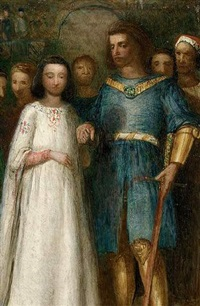 the wedding of sir gawain by james smetham