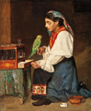 gypsy girl by william brymner