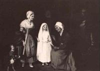 die erste kommunion by heinrich august mansfeld