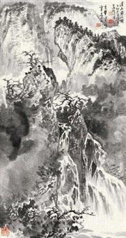 溪山泉石 by xu zhiwen