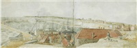 view of ramsgate (+ a companion work; 2 works) by j. r. smith
