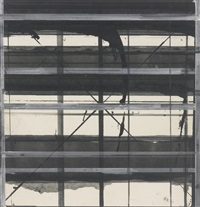 card drawing #5 by brice marden
