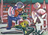 louisiana serenade, from jazz series by romare bearden