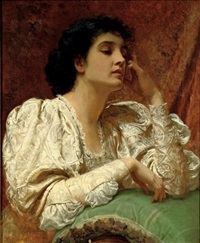 but, oh, for the touch of a vanished hand, and the sound of a voice that is still! by charles edward perugini