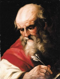 a study of saint mark (?) by agostino scilla