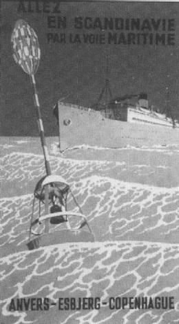 allez en scandinavie par la voie maritime anvers esbjerg copenhague by martin allerup